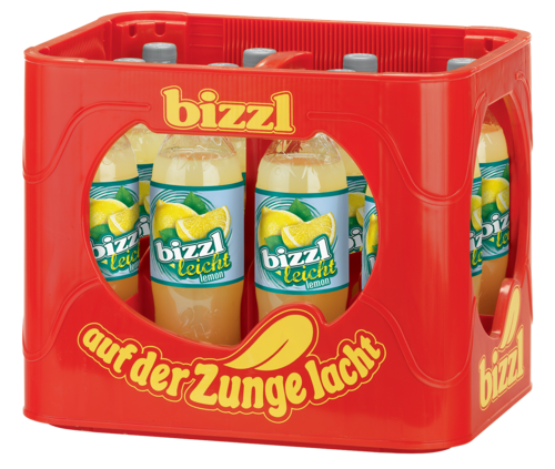bizzl leicht Lemon 12 x 1,0 L PET