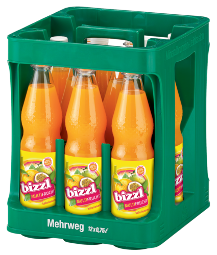 bizzl Multi-Frucht 12 x 0,75 L PET