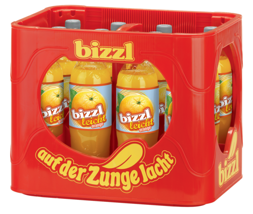 bizzl leicht Orange 12 x 1,0 L PET